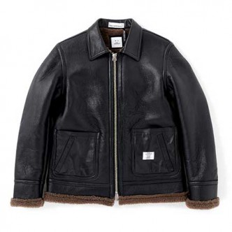 BEDWIN-MOUTON-JKT-WENDERS-BLACK-mens-black-leather-131204