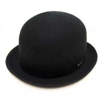 DELUXE-VITO-BOWLER-HAT-BLACK