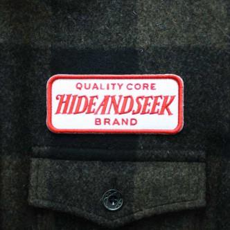 HIDE-and-SEEK-Check-CPO-Shirt-O-D-TAG