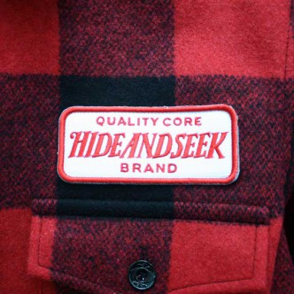 HIDE-and-SEEK-Check-CPO-Shirt-RED-TAG