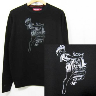 HIDE-and-SEEK-Crew-Neck-Knit-BLACK