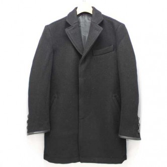 RATS-CHESTER-FIELD-COAT-BLACK