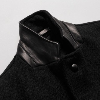 RATS-CHESTER-FIELD-COAT-BLACK-COLLAR-2