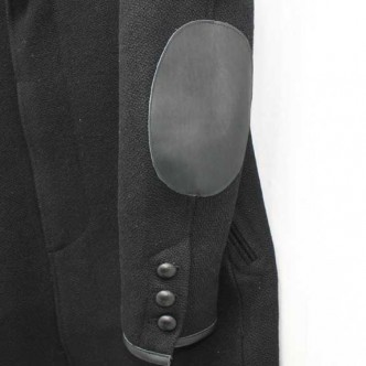 RATS-CHESTER-FIELD-COAT-BLACK-ELBOW