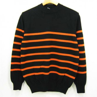 RATS-RAT-BOADER-KNIT-BLACK-ORANGE-BORDER