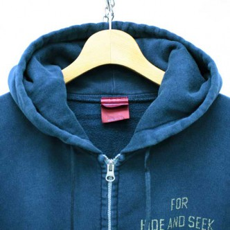 HIDE-and-SEEK-FOR-HS-ZIP-Parka-NAVY-COLLAR