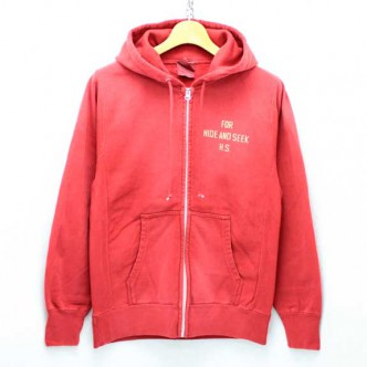 HIDE-and-SEEK-FOR-HS-ZIP-Parka-RED