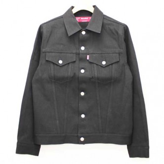 HIDE-and-SEEK-HS-Denim-JKT-3rd-TYPE-BLACK