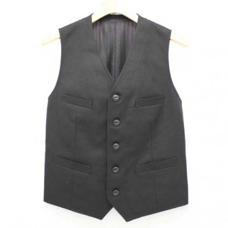 THE-STYLIST-JAPAN-POP-SUCK-TC-VEST-14SS-BLACK