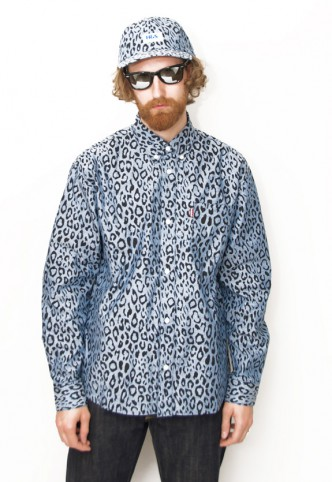 HIDE-and-SEEK-Panther-BD-Shirt-14ws-NAVY-COORDINATE