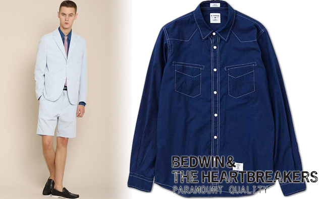 bedwin-14ss-wentern-shirt-pork-coordinate
