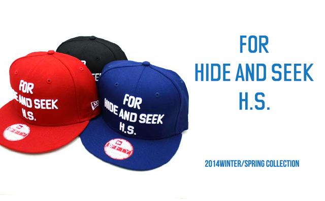 HIDEandSEEK ハイドアンドシーク NEW ERA CAP (14ws)