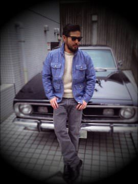 RATS-AVIATOR-JKT-DENIM-INDIGO-COORDINATE
