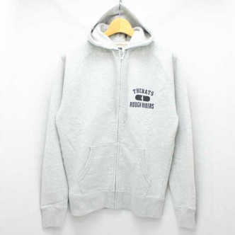 RATS-ZIP-UP-SWEAT-PARKATOP-GREY