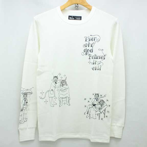 EVIL LIFE THERMAL:WHITEの着こなし