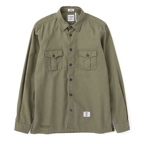 BEDWIN L/S MILITARY SHIRTS