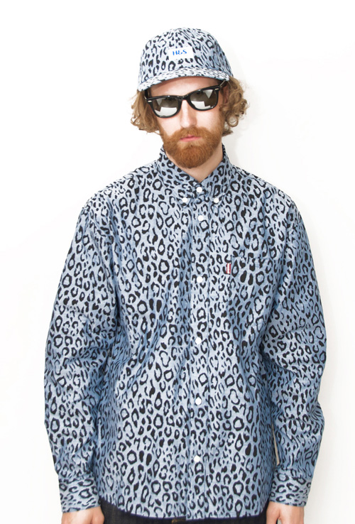 HIDE AND SEEK  Panther B.D. Shirt の着こなし