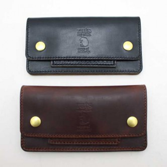 RATS TRUCKER'S WALLET:BLACK . BROWN