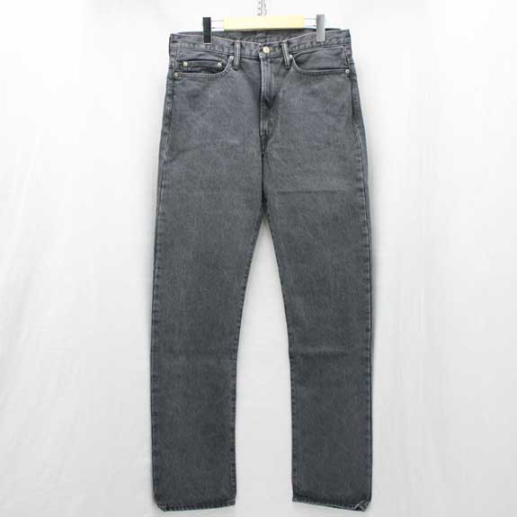 RATS BLACK STONE WASH DENIM PANTS
