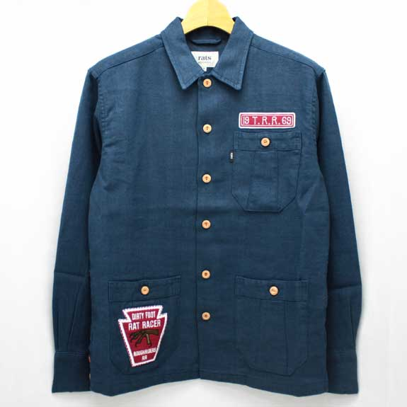 RATS HEMP SHIRTS JKT