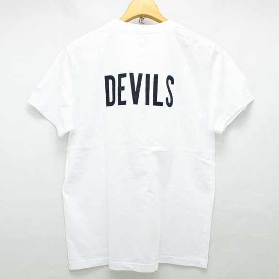 RATS DEVILS T SHIRTS:WHITE