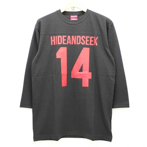 HIDE&SEEK Football 3/4s (14ws):BLACK
