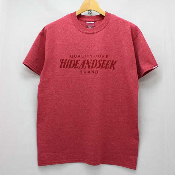 HIDE&SEEK Heather HS Tee (14ws):RED