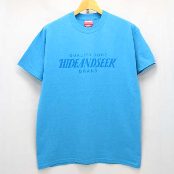 HIDE&SEEK Heather HS Tee (14ws):BLUE