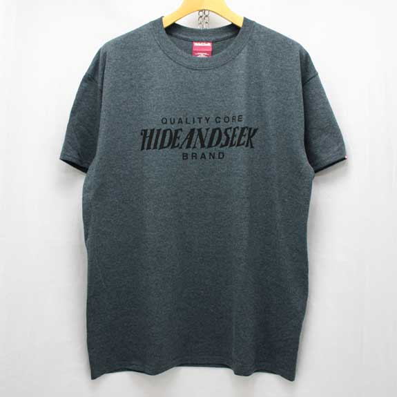 HIDE&SEEK Heather HS Tee (14ws):C-GREY