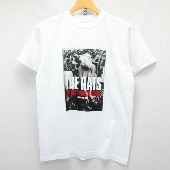 RATS PROPERTY OF RATS T-SHIRTS:WHITE