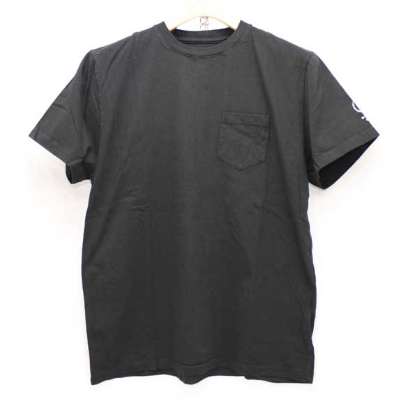 RATS POCKET T-SHIRTS:BLACK