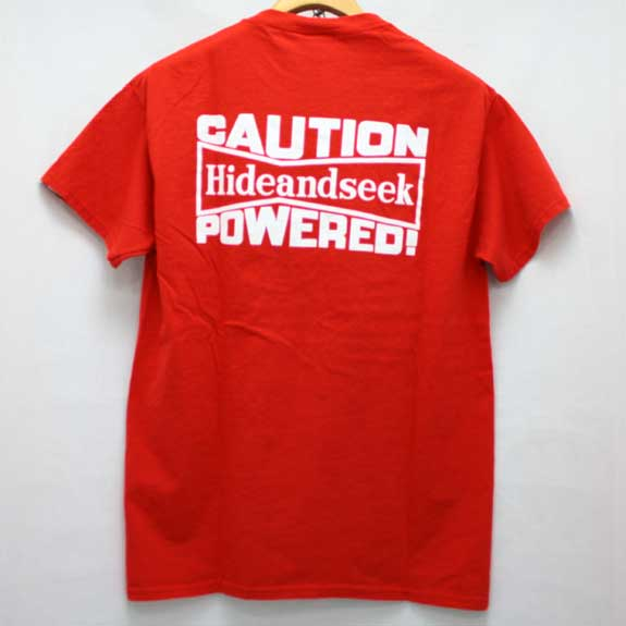 HIDE&SEEK Pub Pocket S/S Tee (14ws):RED