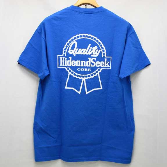 HIDE&SEEK Pub Pocket S/S Tee (14ws):BLUE