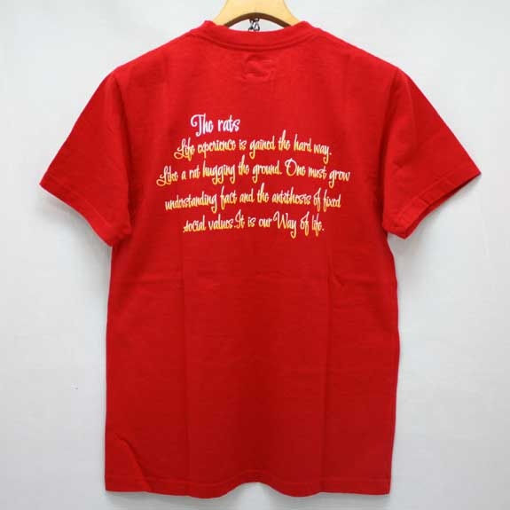 RATS VARMINTS T-SHIRTS:RED