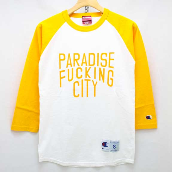 HIDE&SEEK PA FU CITY 3/4s:YELLOW×WHITE