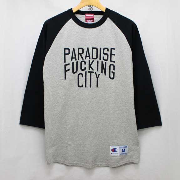 HIDE&SEEK PA FU CITY 3/4s:BLACK×GREY