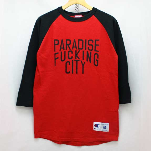 HIDE&SEEK PA FU CITY 3/4s:BLACK×RED