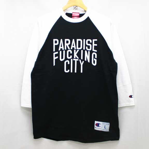 HIDE&SEEK PA FU CITY 3/4s:WHITE×BLACK