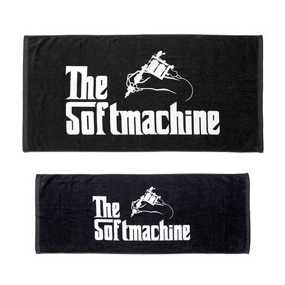SOFT MACHINE GOD TOWEL SET:BLACK