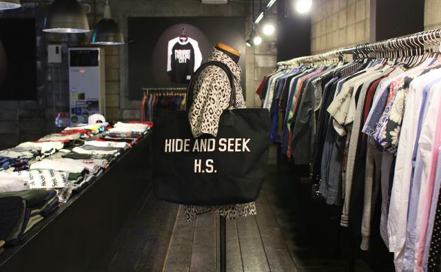 HIDE&SEEK Tote Bag