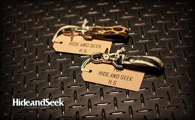 HIDE&SEEK Unbone Calf KeyFob