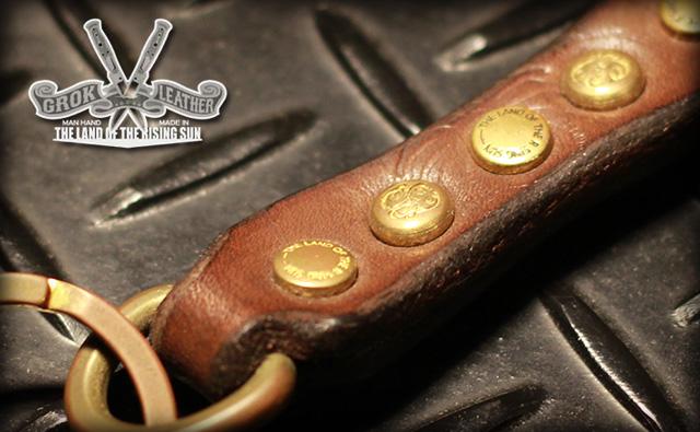 GROK LEATHER Crimp Key holder