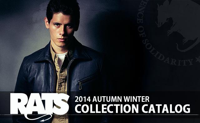 RATS ラッツ 2014 autumn winter コレクション カタログ