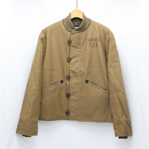 RATS M-43 JKT:BROWN