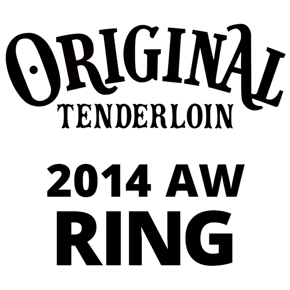TENDERLOIN T-H.S RING CHICKSIZE SILVER/STONE