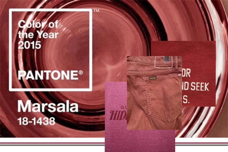 2015年のトレンドカラー「マルサラ」をポイントで取り入れよう!