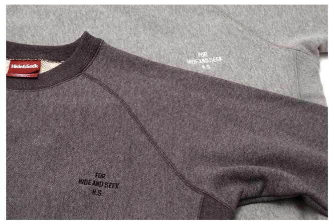 Raglan Sleeve Sweat Shirts color variation