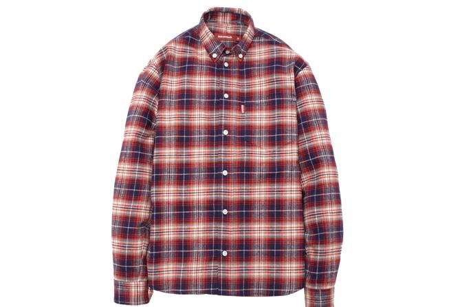 B.D. L/S Shirt (15ss Check)