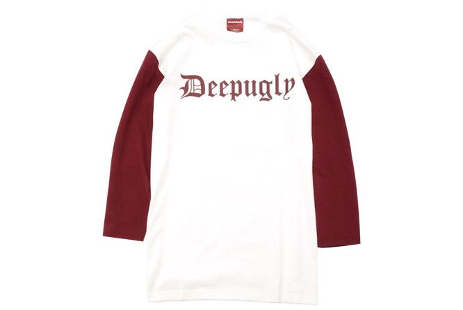 Deep Ugly 3/4s Baseball Shirt