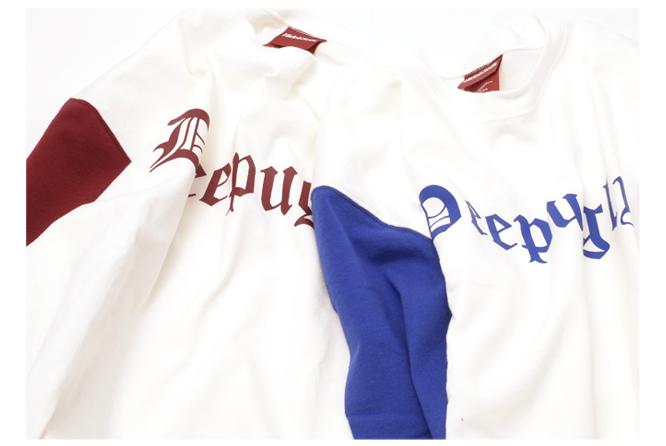 Deep Ugly 3/4s Baseball Shirt color